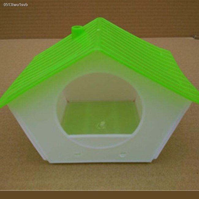 กระเป๋าเป้สัตว์เลี้ยง◄รังนกพลาสติกรังนกรังนก บ้านนก, วิลล่า, อุปกรณ์สำหรับนก, กล่องเพาะพันธุ์พลาสติก, อุปกรณ์เสริม