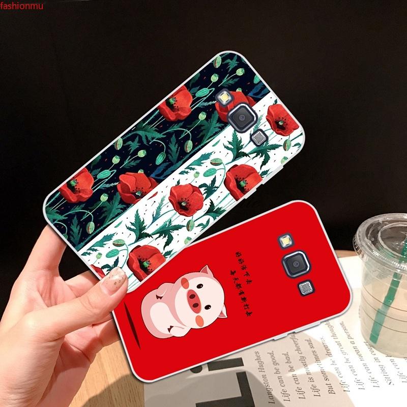 Samsung A3 A5 A6 A7 A8 A9 Star Pro Plus E5 E7 2016 2017 2018 Friesian Soft Silicon TPU Case Cover