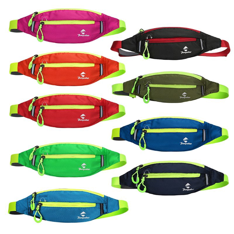 Waterproof Running Belt Bum Waist Pouch Fanny Pack Camping Sports Hiking Zip Bag