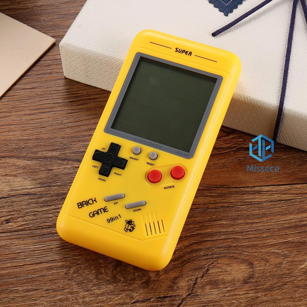 New✧3 5 inch Retro Tetris Classic Handheld Game Console Built-in 26 Kinds  Games(mis✧◡✧)
