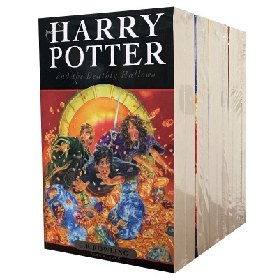 8 Books/ Set Harry Potter Books Adult Foreign Novels English Story Book for Kids YrgC