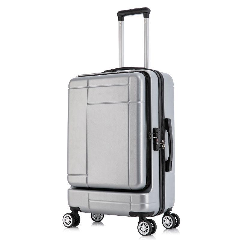 ✇☏กระเป๋าเดินทางแบบเปิดด้านหน้า, กล่องใส่รหัสผ่านคอมพิวเตอร์ขนาดเล็ก, กระเป๋าเดินทางใบเล็กชายและหญิง, กระเป๋าเดินทางโดยส