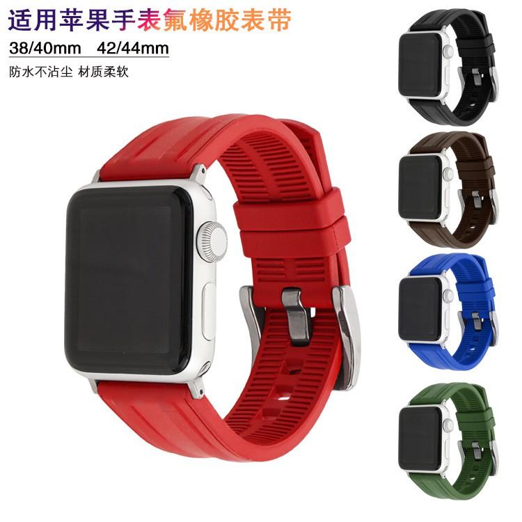 เคสนาฬิกา applewatchบังคับแอปเปิ้ลแอปเปิ้ลดูนาฬิกาapplewatchViton สายiwatch3456รุ่นSEทั่วไปสีเดียวนาฬิกาapplewatch
