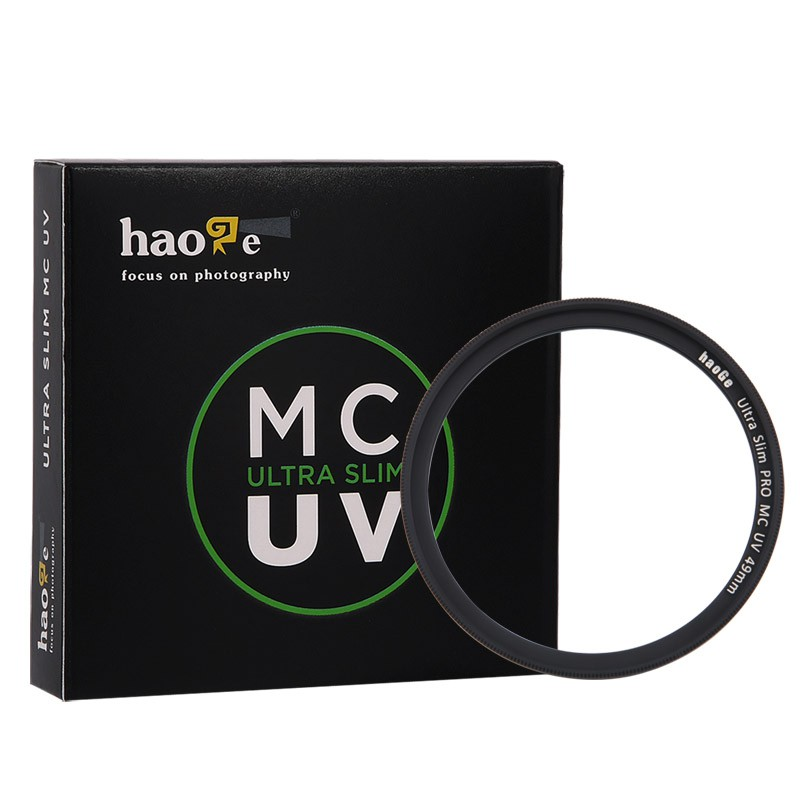เพลงกระจกยูวี MC หลายฟิล์ม 62mm ฟูจิ XF23mmF1.4 XF56mm / F1.2 R APD เลนส์