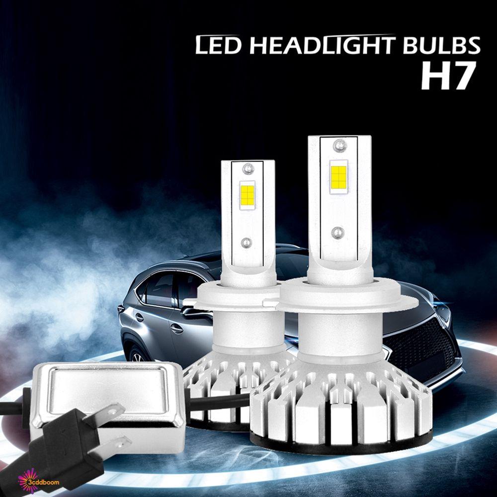 H1 180W 18000LM Low Beam COB LED Headlight Conversion Fog Lamp Bulb Light KIT