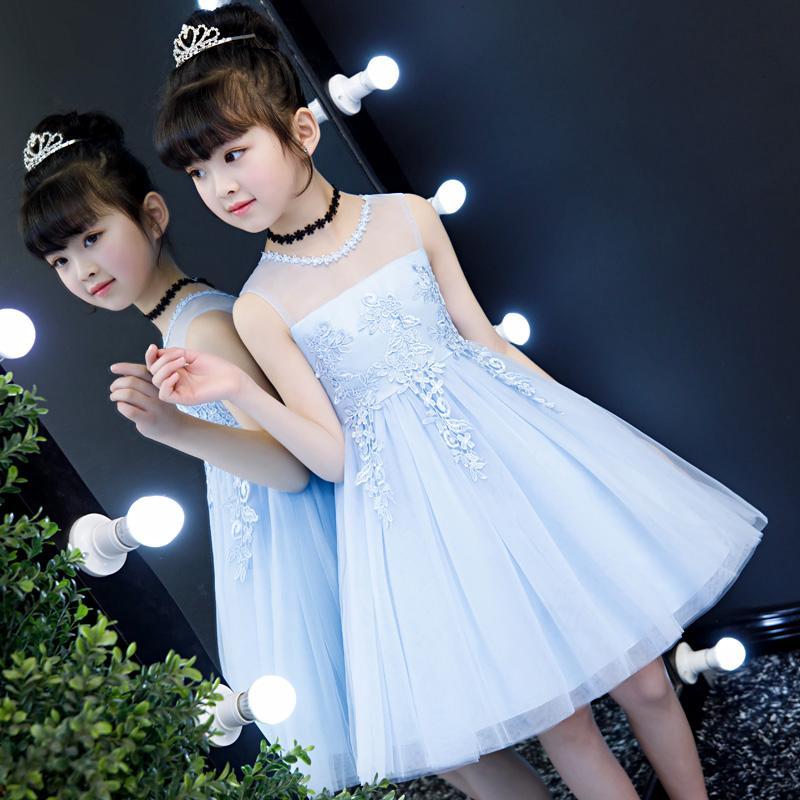 ชุดเดรสผ้าฝ้ายสไตล์เกาหลีสำหรับเด็ก | Shopee Thailand