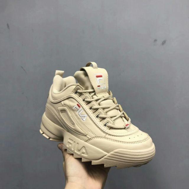 Real original FILA Disruptor II 2 รองเท้าผู้หญิง ผู้ชาย รองเท้ากีฬา แท้ รองเท้าผ้าใบ รองเท้าวิ่ง รองเท้าแฟชั่น รองเท้า