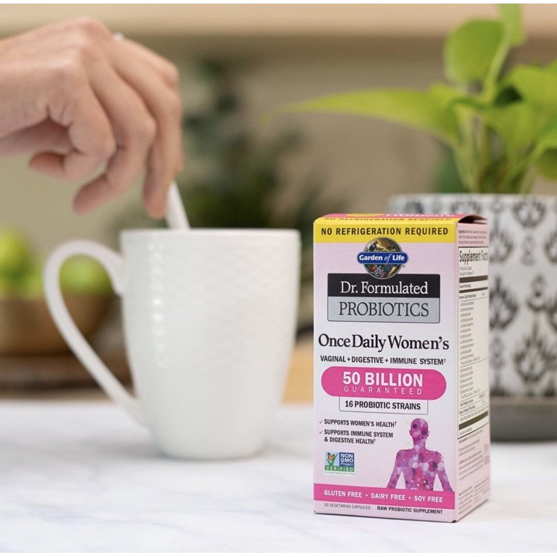 Dr. Formulated Probiotics Once daily Women's Garden of life 30 แคปซูล
