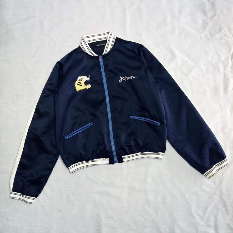 Jeanasis sukajan bomber jacket