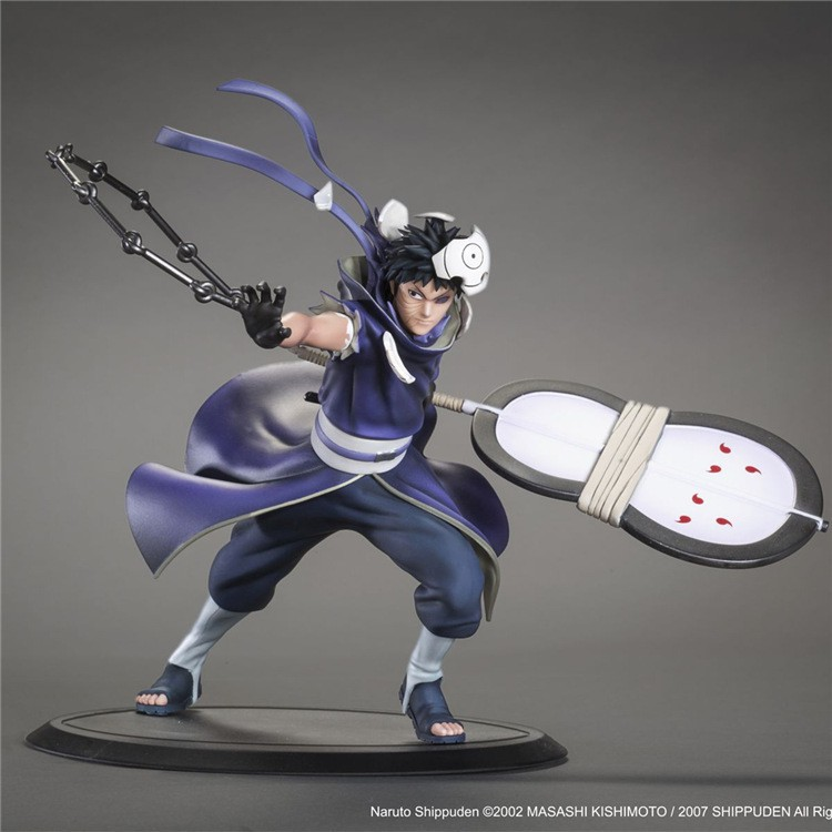 18cm Naruto Shippuden Uchiha Obito Anime Action Figure