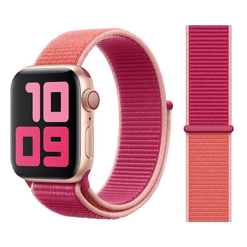 สายนาฬิกาข้อมือ AppleWatch 42 มม. 38 มม. 40 มม. 44 มม. series 6  5 4 3 2 1สายผ้า
