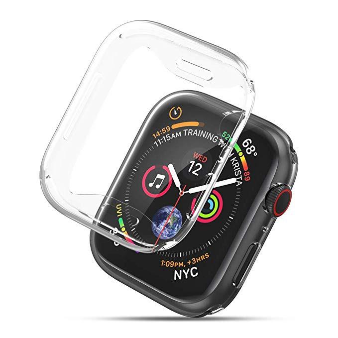 เคสสำหรับ Apple Watch 38 มม. 40 มม. 42 มม.44 มม.TPU Soft Case For iWatch Series 6 SE 5 4 3 2 1