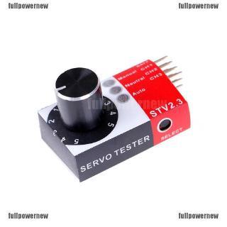 FP❤1Pcs mini servo tester 4 8v to 6 0v STV2 3 BEC Tester