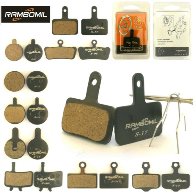 1 Pair MTB Mountain Bike Metal Disc Brake Pads for Shimano M446 355 395 BB5