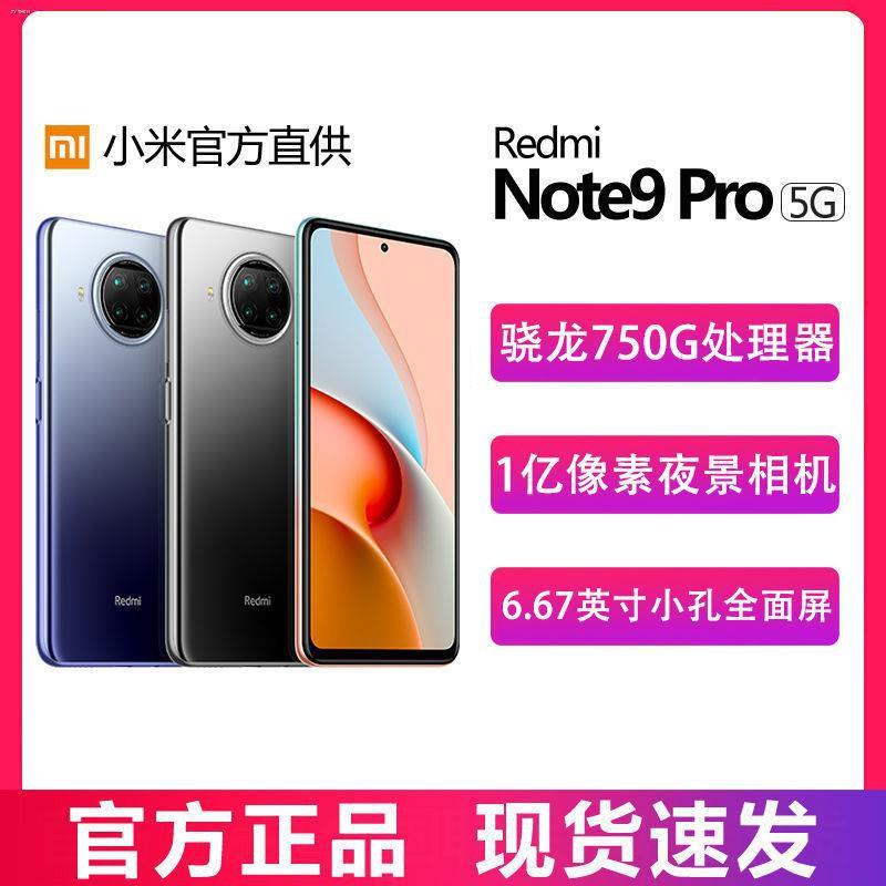 ✚Redmi Xiaomi Redmi note9pro series ผลิตภัณฑ์ใหม่สมาร์ทโฟน Netcom เต็มรูปแบบโทรศัพท์มือถือนักเรียนที่มี 100 ล้านพิกเซล