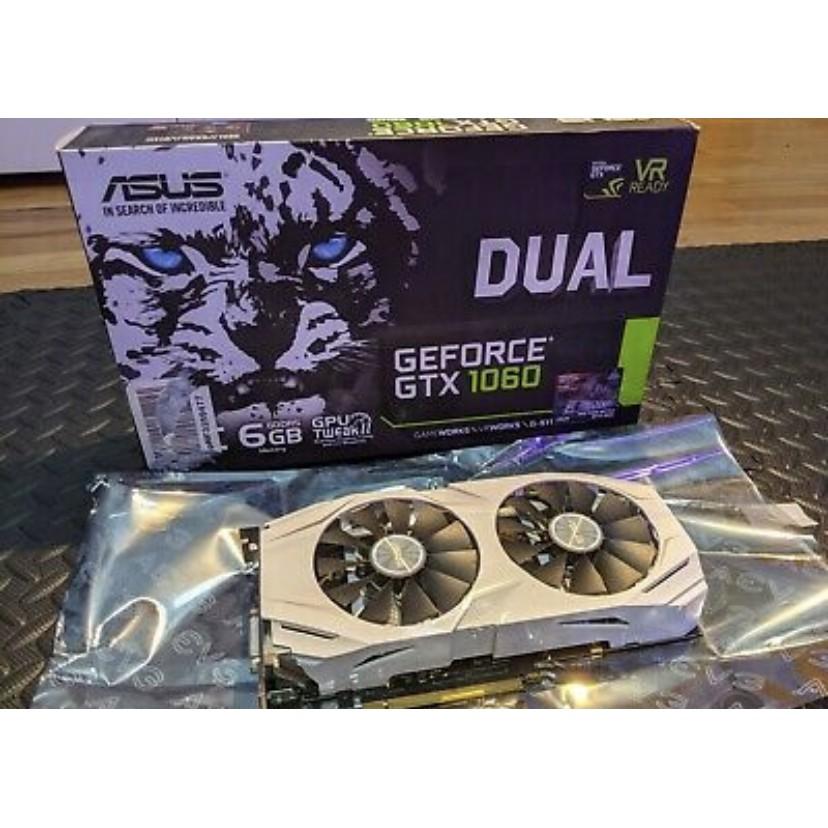 ASUS GeForce GTX 1060 6GB GDDR5 Graphics Card (DUAL-GTX1060-O6G)