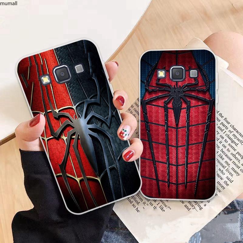 Samsung A3 A5 A6 A7 A8 A9 Star Pro Plus E5 E7 2016 2017 2018 Avengers pattern-4 Soft Silicon Case Cover