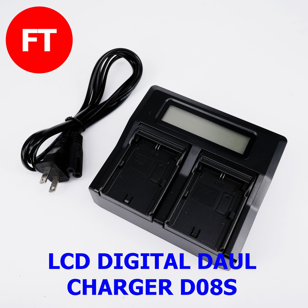 VW-VBD58 DISPLAY for Panasonic VW-VBD29 2in1 DUAL CHARGER