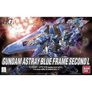 Review HG 1/144 : Gundam Astray Blue Frame Second L