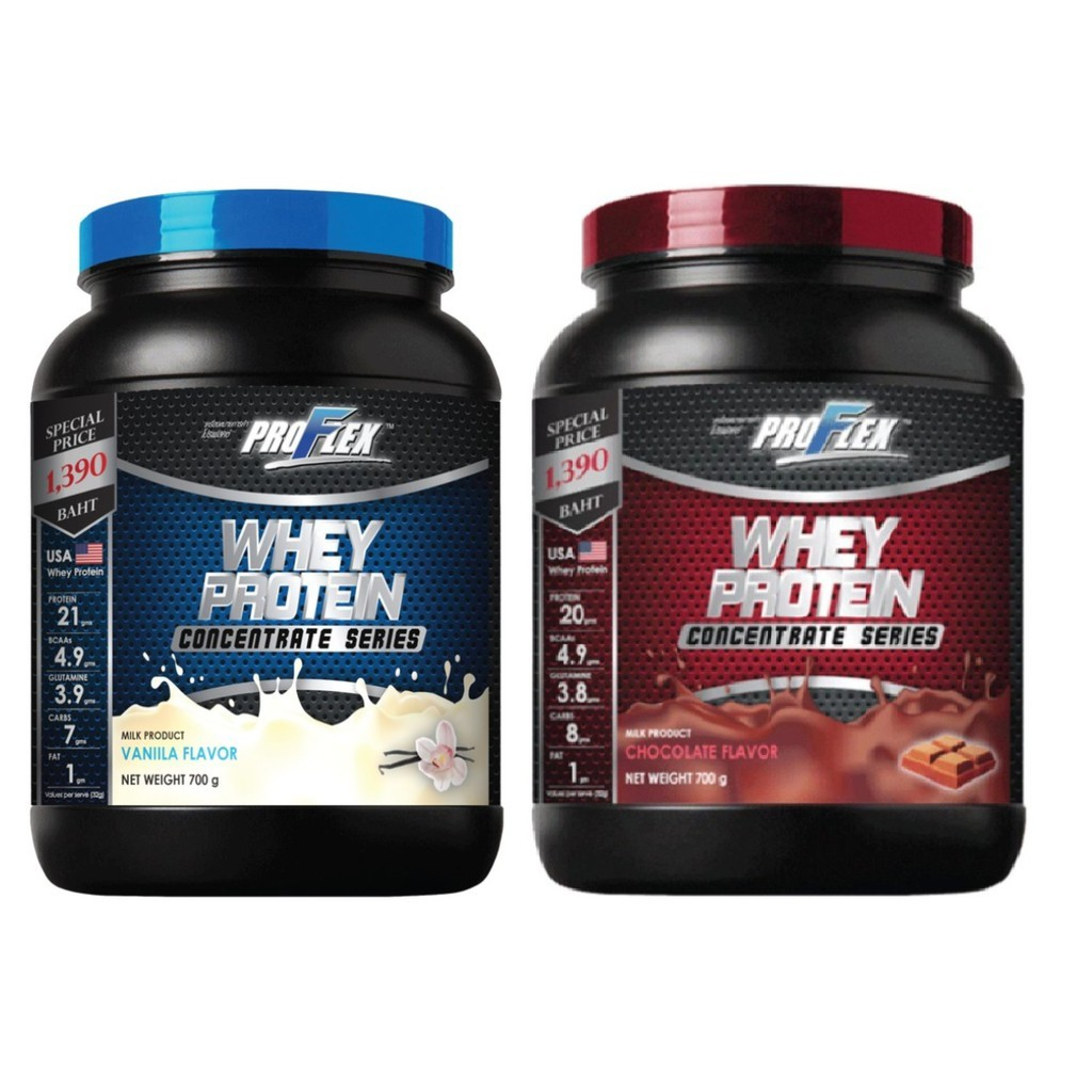 ProFlex Whey Protein Concentrate Vanilla / Choc 700 g (V:13291,C:13292)
