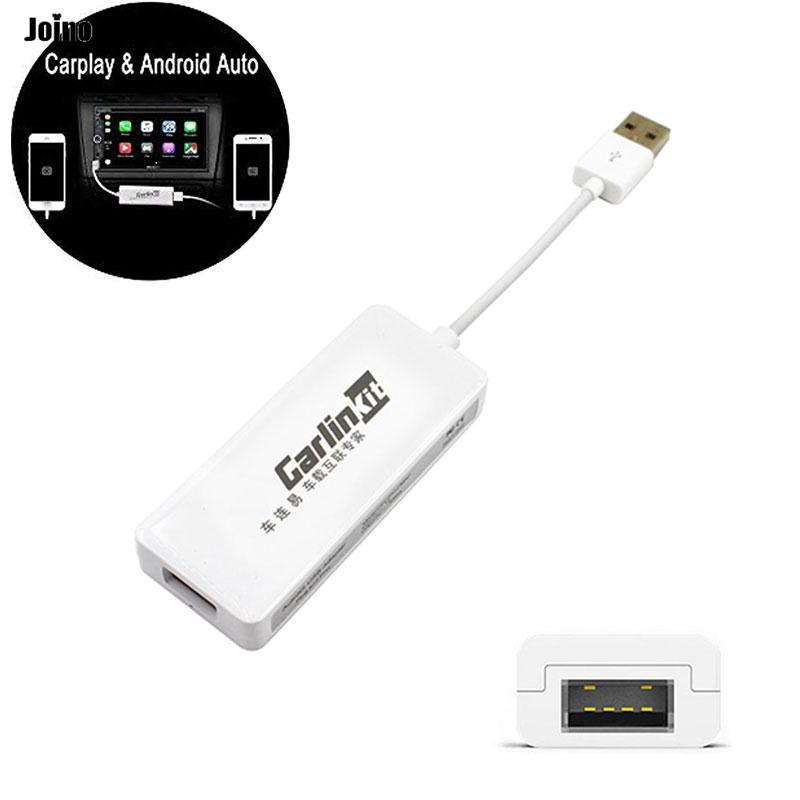 USB Dongle Cable for iOS//Apple Carplay Android Car Auto Navigation Player 12V