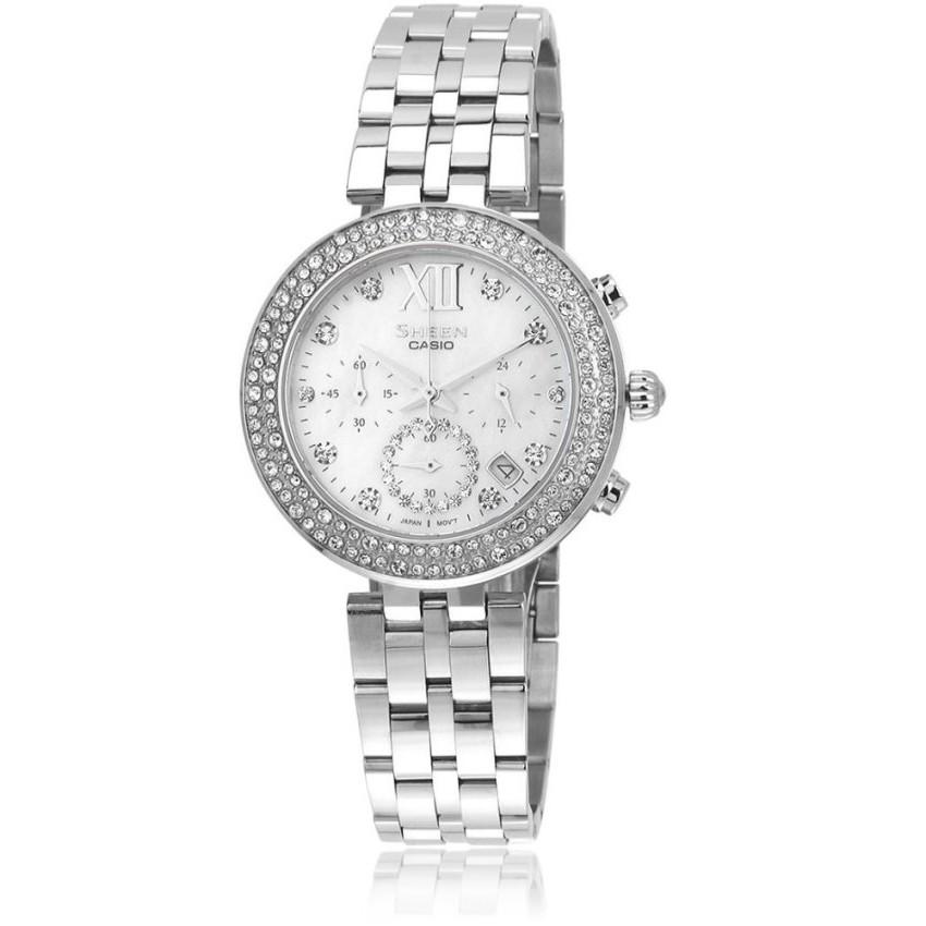 Casio นาฬิกาผู้หญิง สายสแตนเลส รุ่น SHE-5518D