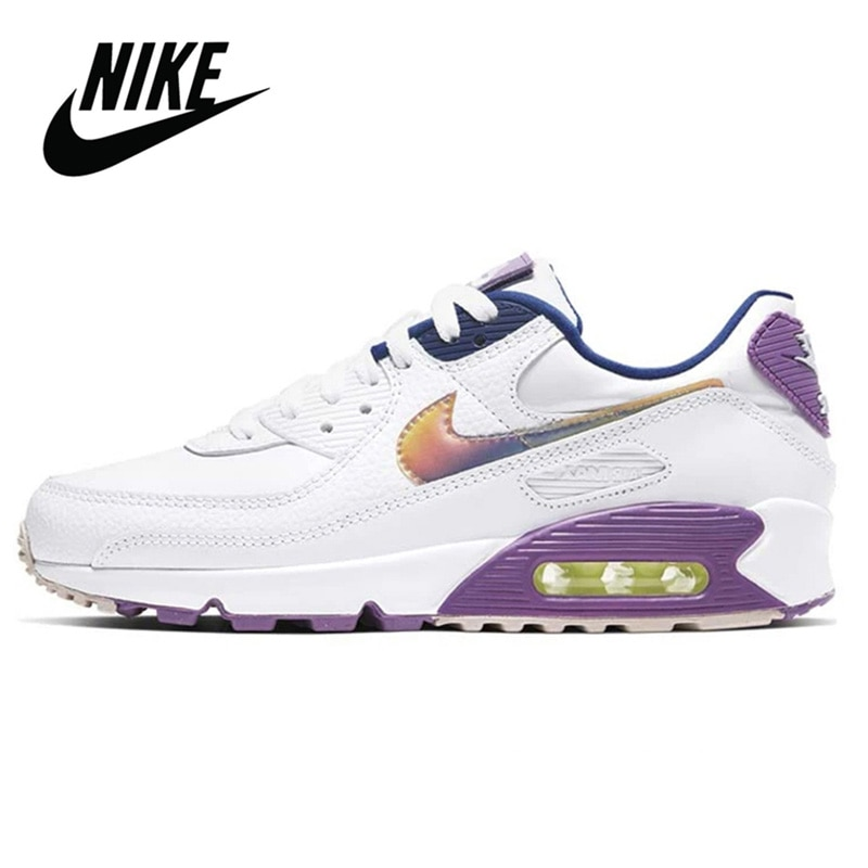 Nike Air Max 90 Running Shoes Women Sneakers Breathable Sneakers Women Gym Trainers Outdoor Sport Shoes Nike Airmax 90 W