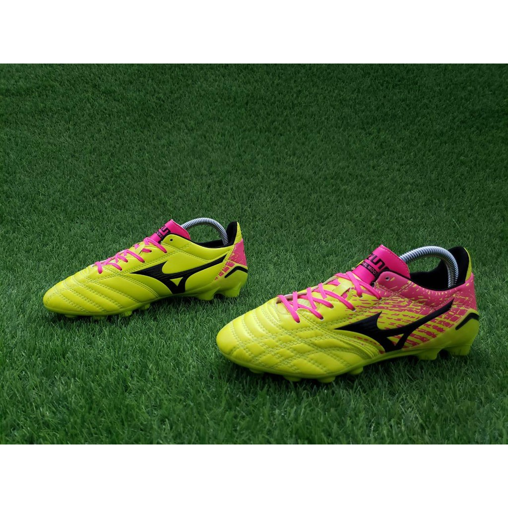 ใหม่☼ นาฬิกาฟุตบอล Mizuno Morelia Neo Ii Fg - สีชมพูเหลือง