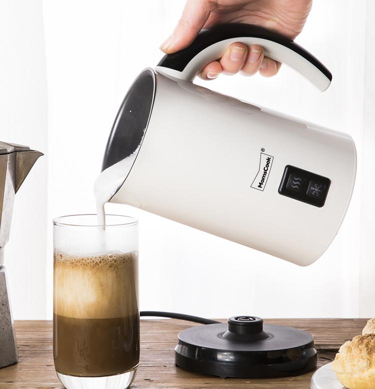 ✿Bubbler✿ เยอรมนีอัตโนมัติร้อนและเย็นเครื่องทำฟองนมไฟฟ้าที่ใช้ในครัวเรือนbubbler,กาแฟเชิงพาณิชย์เครื่องทำฟองนมร้อน