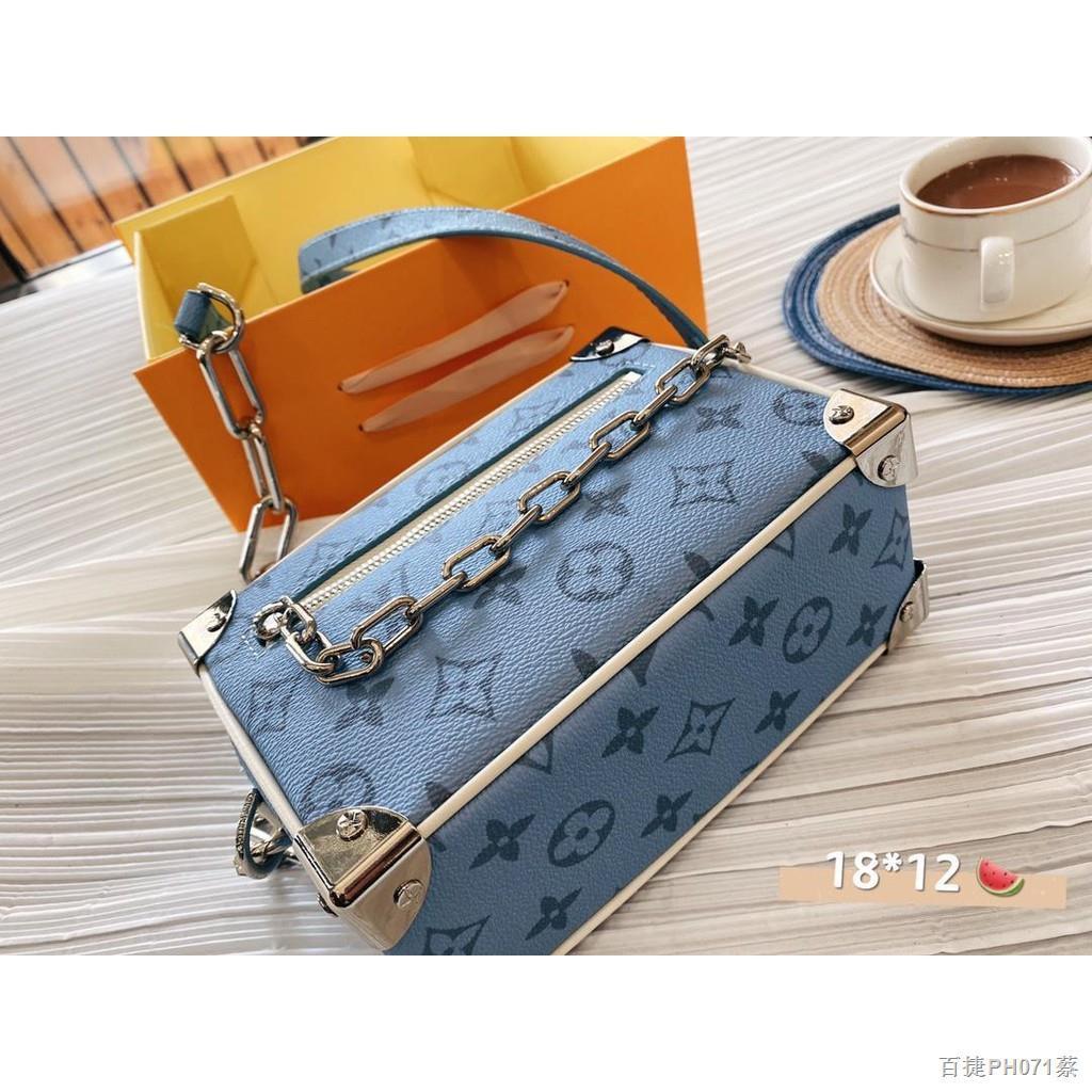 ส่วนลดจำกัดเวลา▽◘✎【Quick Shipping】lv กระเป๋ากระเป๋าเดินทางใบเล็กรุ่นใหม่ล่าสุดปี 2021 กระเป๋าสะพายข้างผู้หญิง