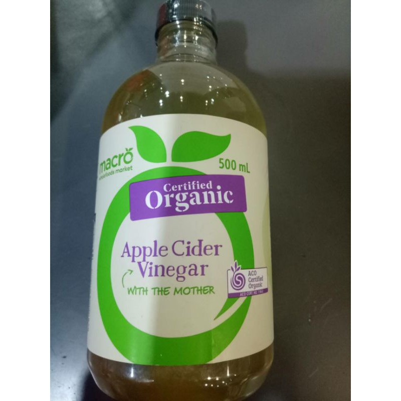 Macro Organic Apple Cider Vinegar 500 ml ราคาสุดฟิน