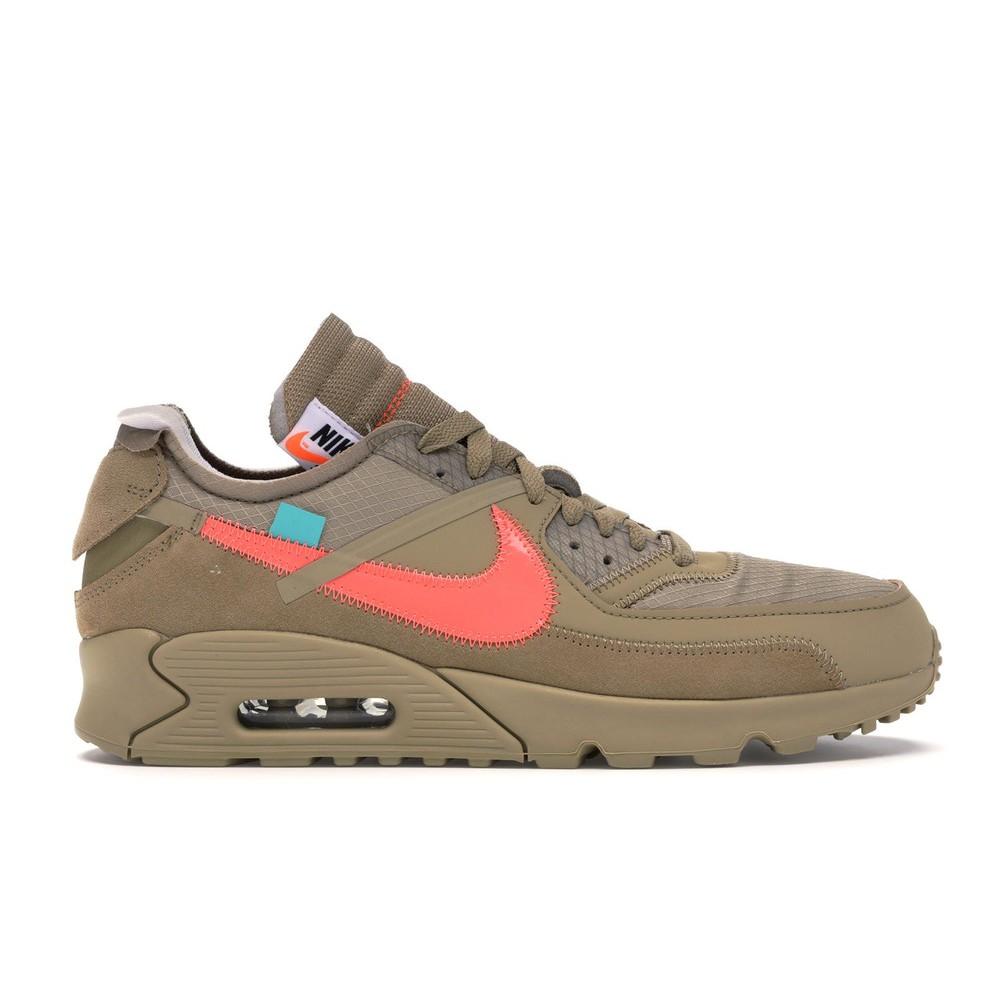 """รองเท้า Nike Air Max 90 X Off-White """" Desert Ore """""""