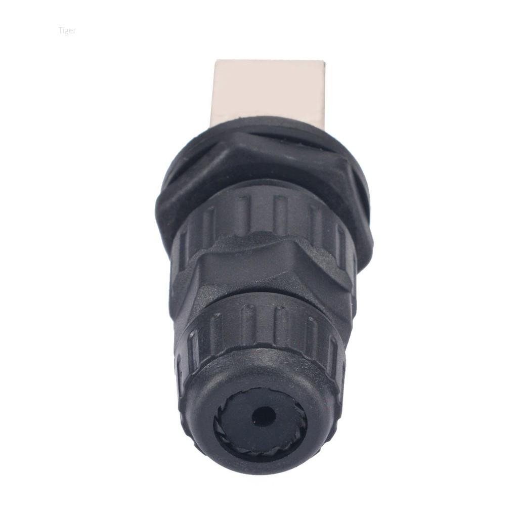 RJ45 IP68 Network Outdoor AP Waterproof Connector Durable 10mm Hole 8 Core Kit