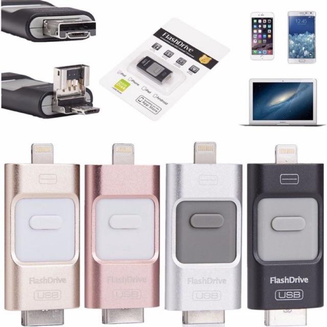 Usb 1 Tb Iphone X / 8 / 7 / 7 Plus / 6 / 6s / Se / Otg 25 Gb 64gb