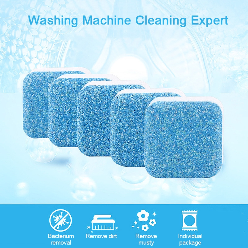 1pcs/5pcs Washing Machine Cleaner Powder Laundry Ball Washing Machine Tub Bomb