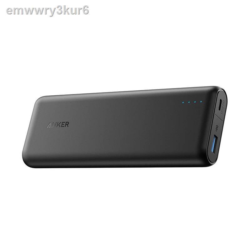 ✢☬Anker PowerCore Speed PD โทรศัพท์มือถือ PD สองทางชาร์จเร็วแบตสำรองความจุสูง 20000+