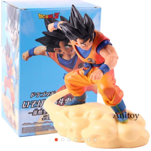 Dragonball Z Figures Son Gokou Cloud Somersault Dragon Ball Goku Action Figure PVC Collectible Model Toy