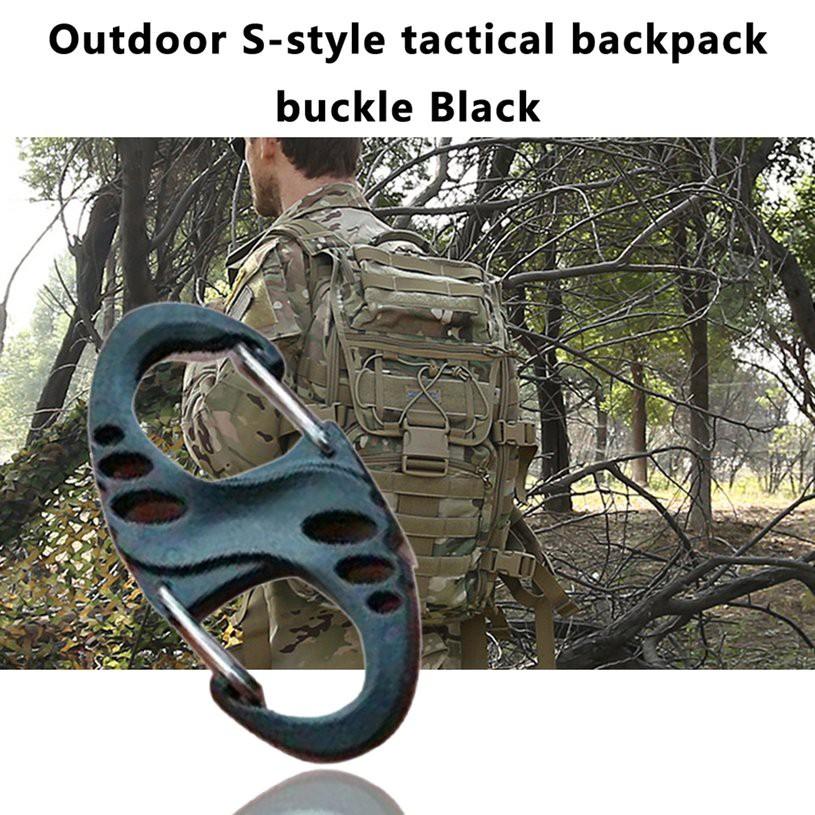 [pa] S-style กระเป๋าเป้สะพายหลังหัวเข็มขัดเหมาะกับการพกพาเดินทาง