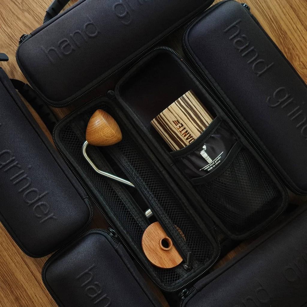 [พร้อมส่ง] Coffee Hand Grinder Bag // กระเป๋าใส่เครื่องบดกาแฟมือหมุน // สามารถใช้ใส่ Comandante C40 ได้