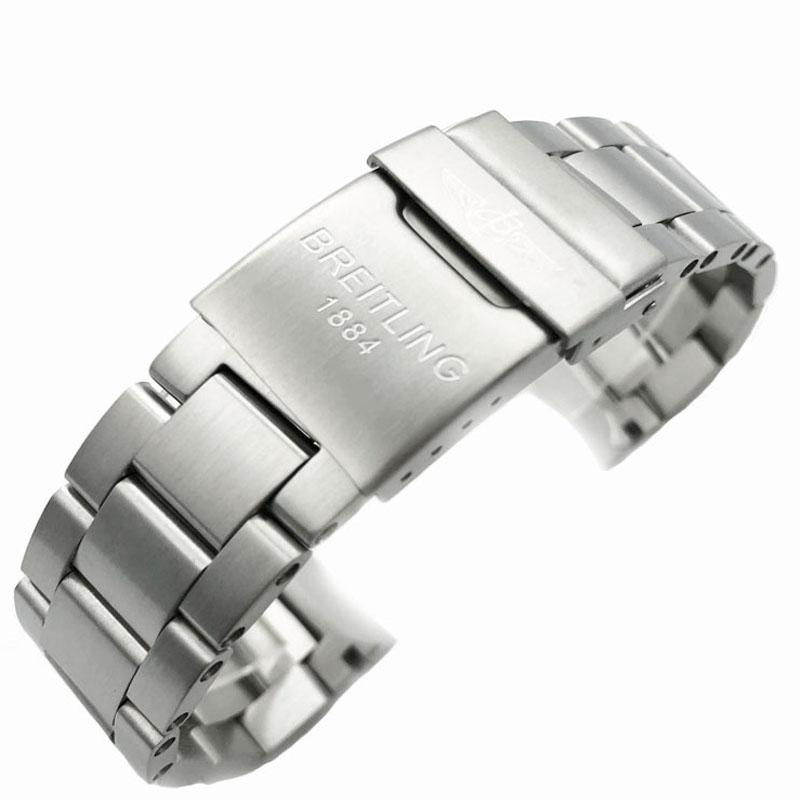 ☄﹤สายนาฬิกา smartwatchสายนาฬิกา gshockสายนาฬิกา applewatchบังคับBreitlingเข็มขัดเหล็กนาฬิกาผู้ชายเข็มขัดมหาสมุทรเวนเจอร์