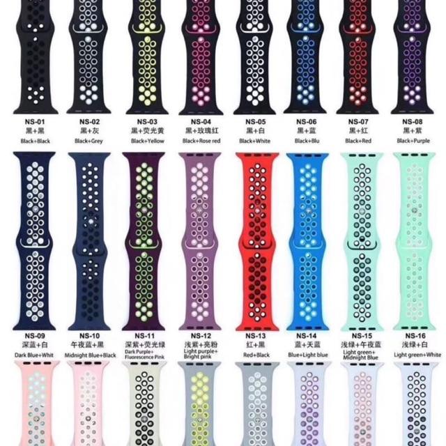 สาย sport Nike apple watch series 1,2,3,4,5,6,SE Size 38/42/40/44 mm