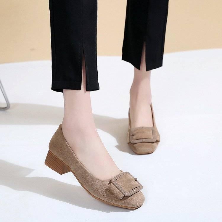 รองเท้าส้นสูง✶✨✨รองเท้าคัชชู มาใหม่ รองเท้าแฟชั่นใส่ทำงาน เป็นคัชชู พร้อมส่ง✨✨