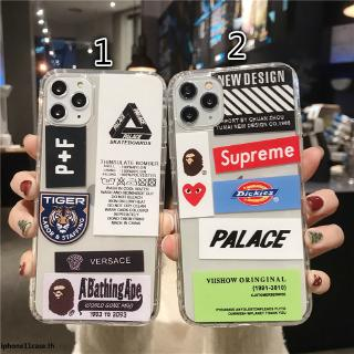 Review Trendy brand labels phone case iPhone X XS Max XR Transparent Soft Fundas iPhone 11 XR 6 6S 7 8 Plus Covers