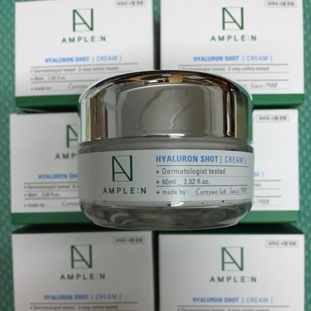 ผลการค้นหารูปภาพสำหรับ Coreana Ample :N Hyaluron Shot Cream 60 ml.