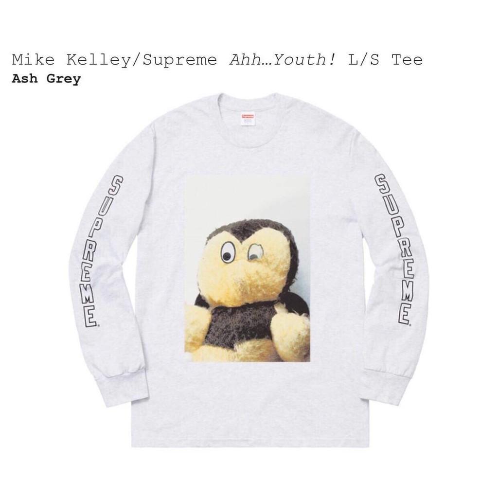 เสื้อ Supreme ของแท้รุ่น MikeKelley(grey)Size.M