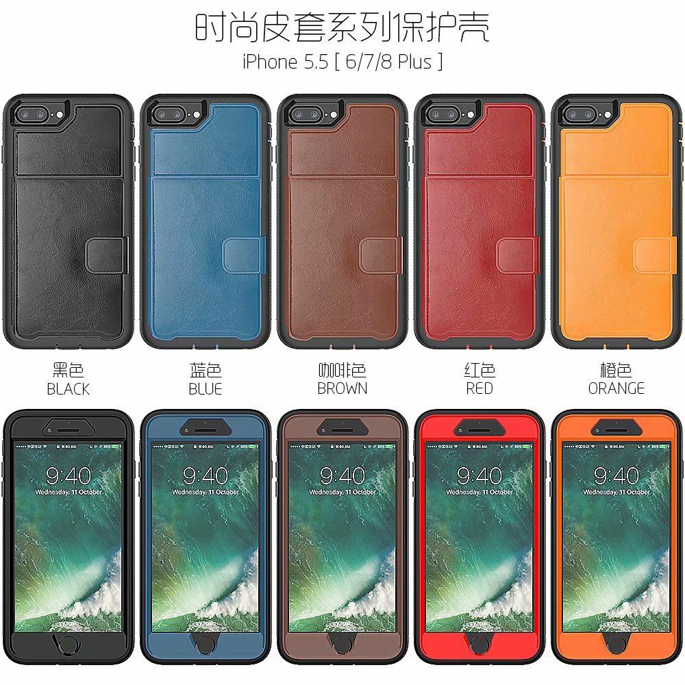เคสกระเป๋าหนังใส่บัตรสําหรับ apple 11 iphone 11 pro max crazy horse