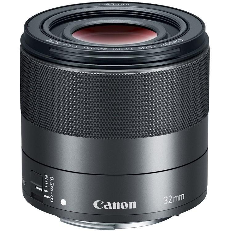 Canon Lens EF-M 32mm F1.4 STM สีดำ (สินค้ารับประกันร้าน 1 ปี)