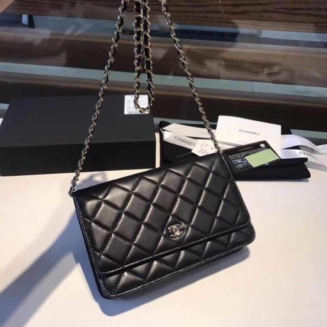 Chanel Woc Lambskin (Ori) 19 cm