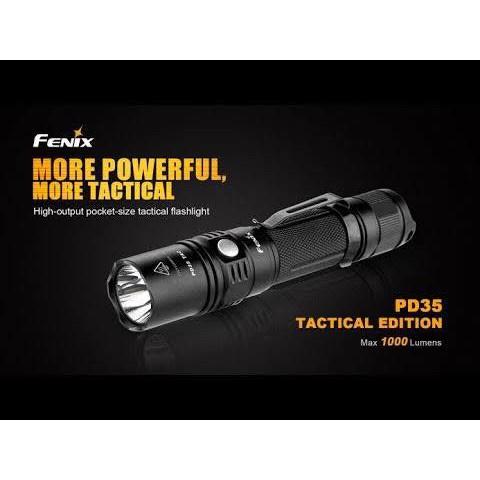 Tawanchai9 ไฟฉาย Fenix PD35TAC รุ่นยอดนิยม ‼️แถมถ่าน 18650 มูลค่า 550 บาท ฟรี‼️