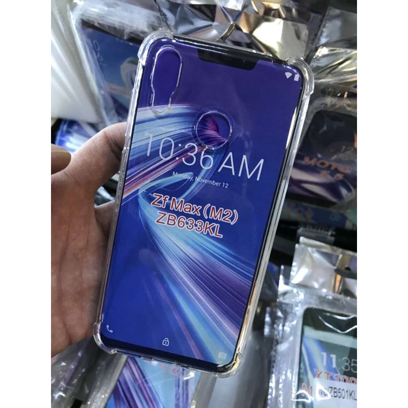 Image # 1 of Review Asus Zenfone Max Pro M2 ZB631KL/Max M2 ZB633KL 5Z Ze620KL 5 Lite ZC600KL Max M1 ZB555KL Live L1 Clear Case Shockproof